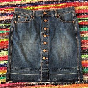 5963d53377 Women Loft Denim Skirt on Poshmark